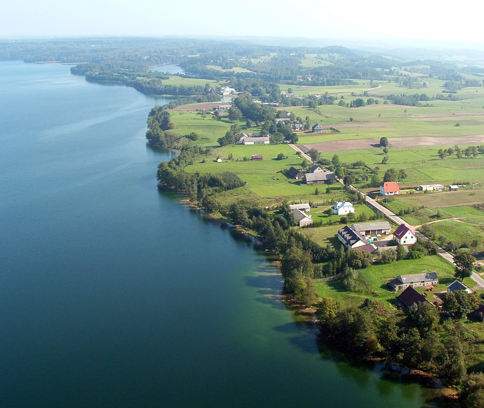 Noclegi nad jeziorem Hañcza